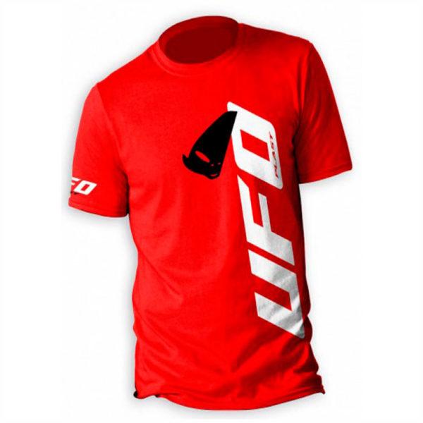 camiseta Ufo Alien roja casual