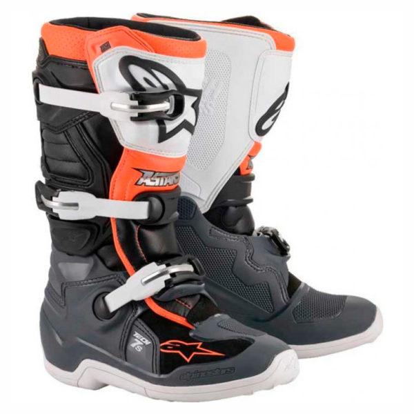 alpinestars-tech-7s-naranja-mx119-junior
