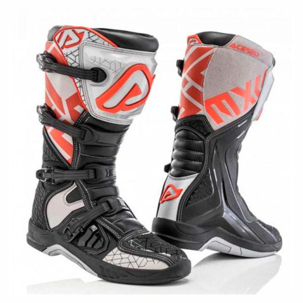 bota-acerbis-x-team-gris-rojo-mx119