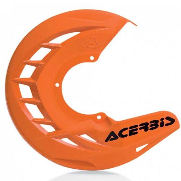 Protector Disco delantero Acerbis X-Brake Naranja