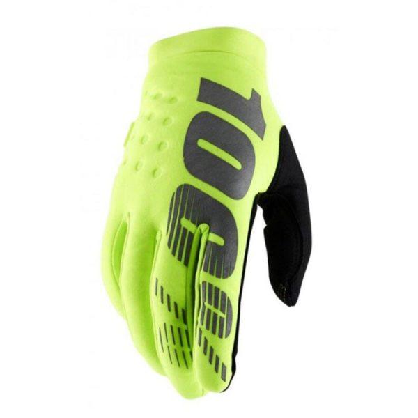 guantes-100-brisker-invierno-amarillo-niño-mx119