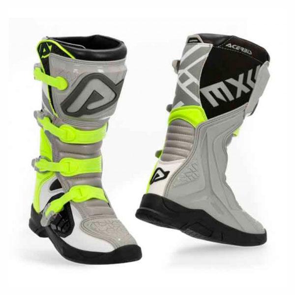 botas-acerbis-x-team-gris-amarillo-mx119