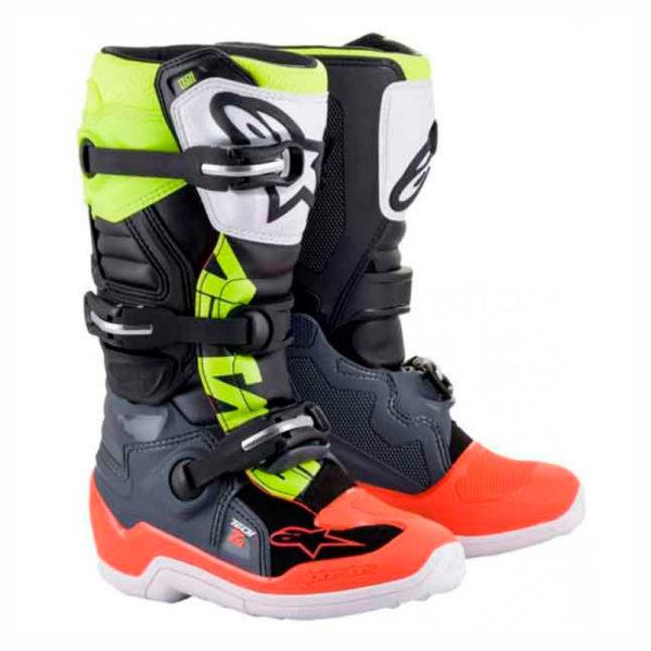 botas-alpinestars-tech7s-amarillo-gris-naranja-mx119