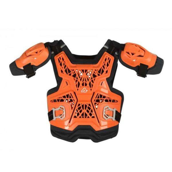 peto-acerbis-gravity-roost-deflector-naranja-niño-mx119