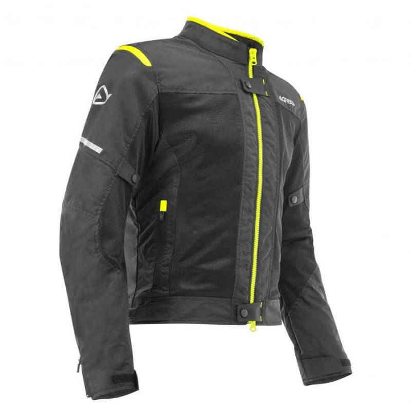 chaqueta-acerbis-ramsey-vented-negro-amarillo-mx119