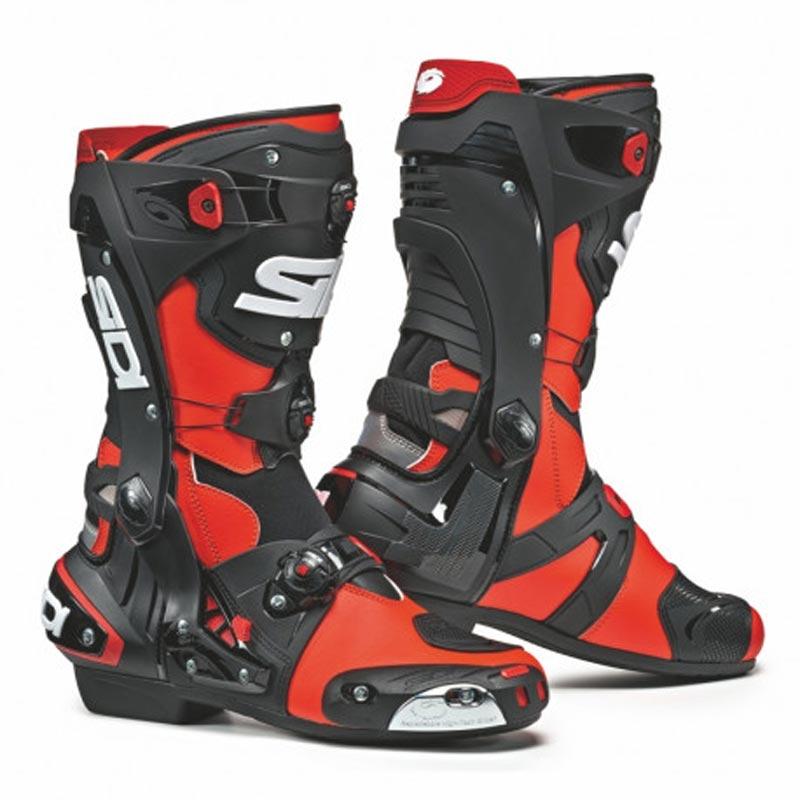 botas-sidi-rex-rojo-fluor-negro-mx119